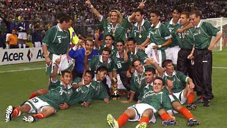 Celebración México Copa Confederaciones