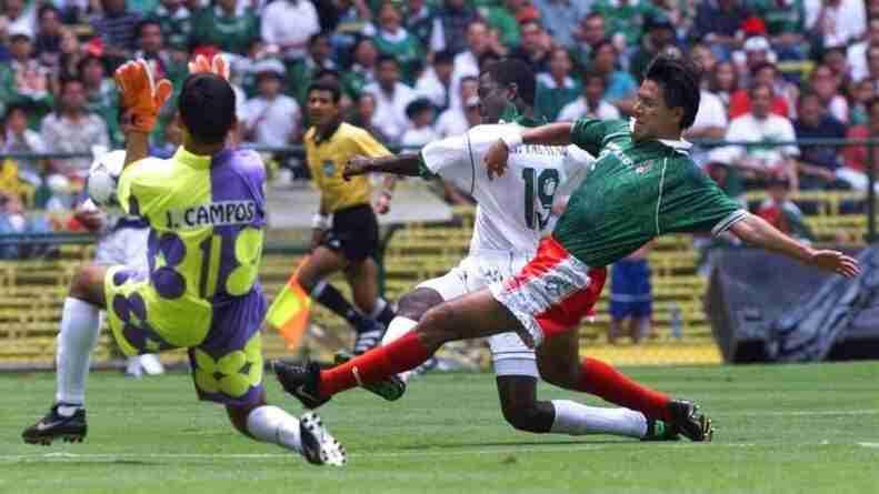 México Arabia Saudita Confederaciones 1999