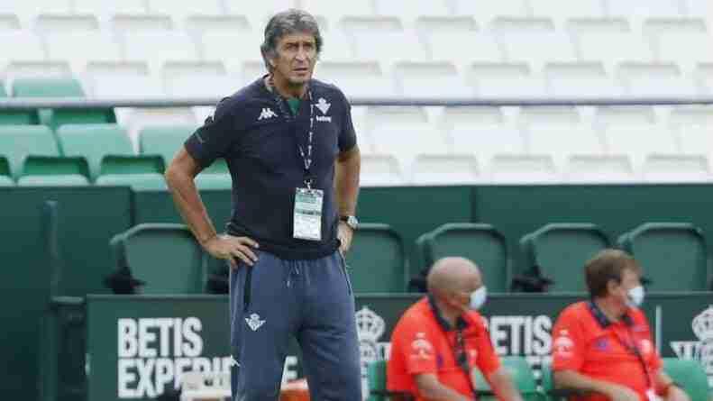 Manuel Pellegrini banquillo Betis