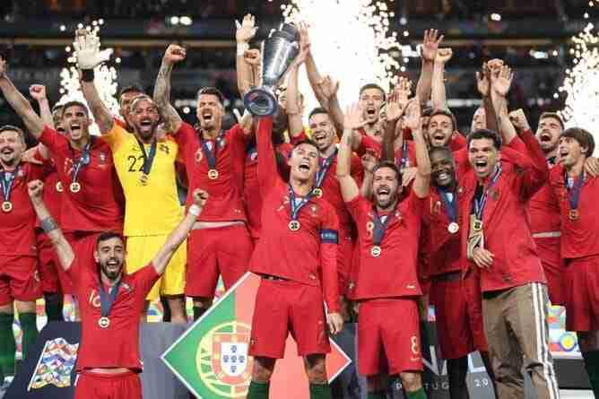 Portugal celebra UEFA Nations League
