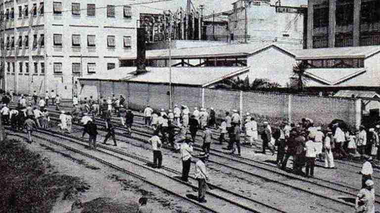 trabajadores de la Swift 1930