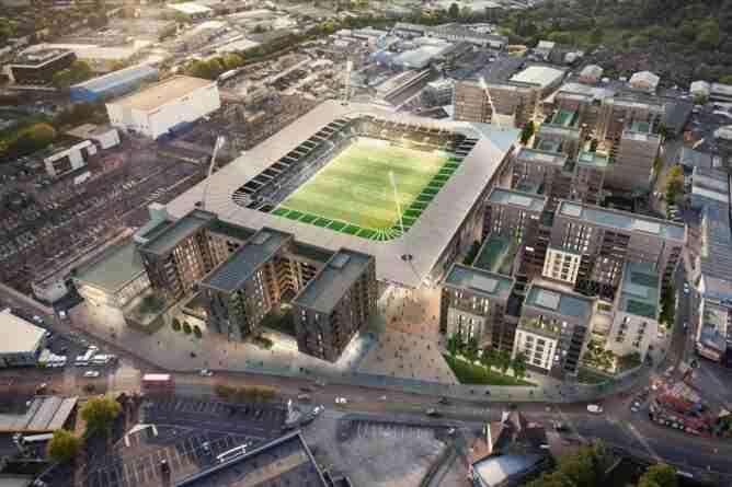 El nuevo AFC Wimbledon va creciendo paso a paso y proyecta un nuevo estadio.