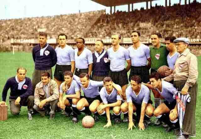 Uruguay llegó como vigente campeona del mundo al Mundial de 1954, tras el Maracanazo en 1950