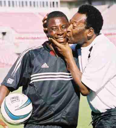 Freddy Adu y Pelé