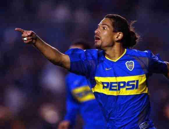 "Antonio ""Chipi"" Barijho celebra gol Boca Juniors"