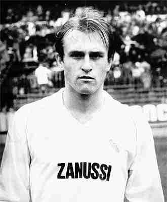 Miguel Pardeza joven Real Madrid