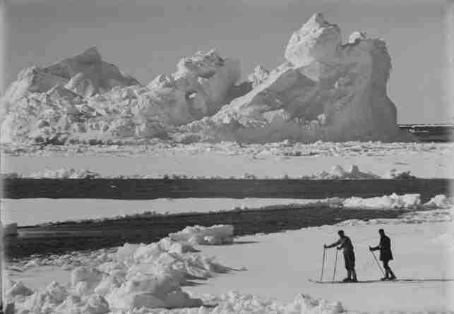 La expedición Terra Nova, comandada por e Capitán Scott fue la segunda en alcanzar el Polo Sur