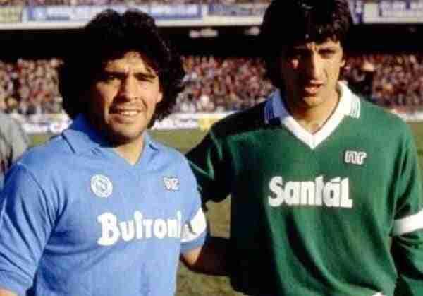 Derbi de Campania 1985/86: Maradona y Ramón Díaz