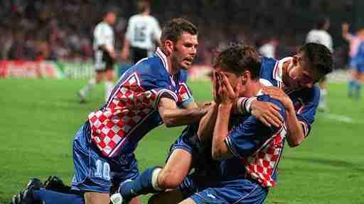 Jarni, Vlaovic y Suker liquidaron a Alemania en los cuartos de final del Mundial de Francia de 1998