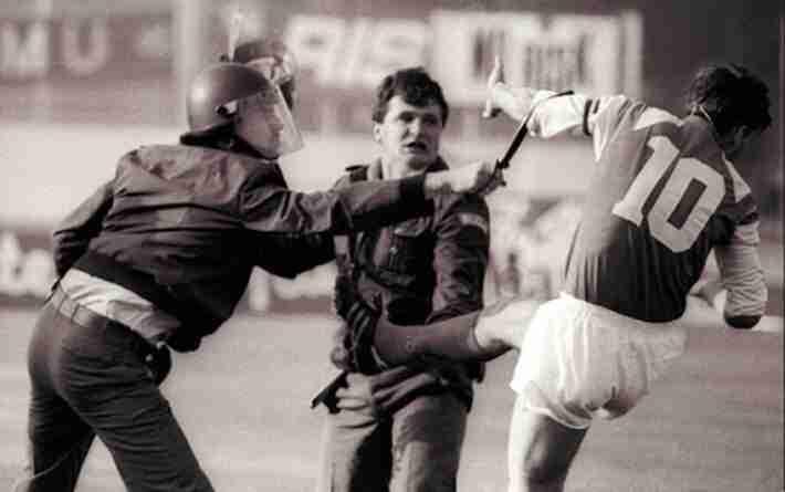 Boban agredió a un policía que trataba de disolver un tumulto de la afición del Dínamo de Zagreb