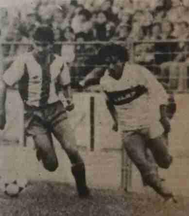 Manolo Quintero en su etapa de jugador