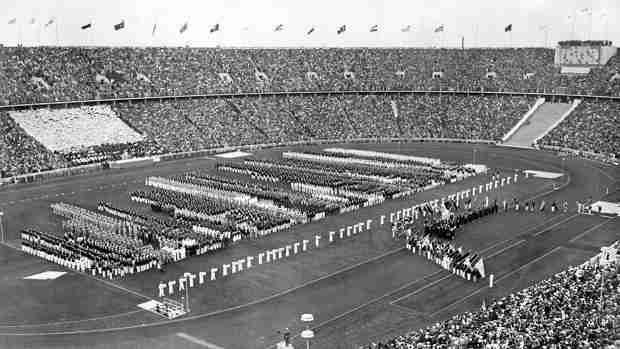 Olímpico de Berlín inauguración