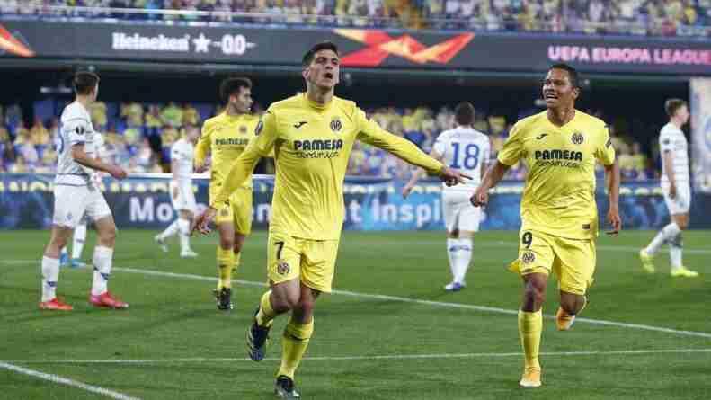 Gerard Moreno gol Europa League