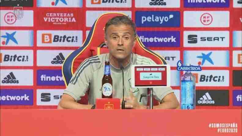 Luis Enrique rueda de prensa selección