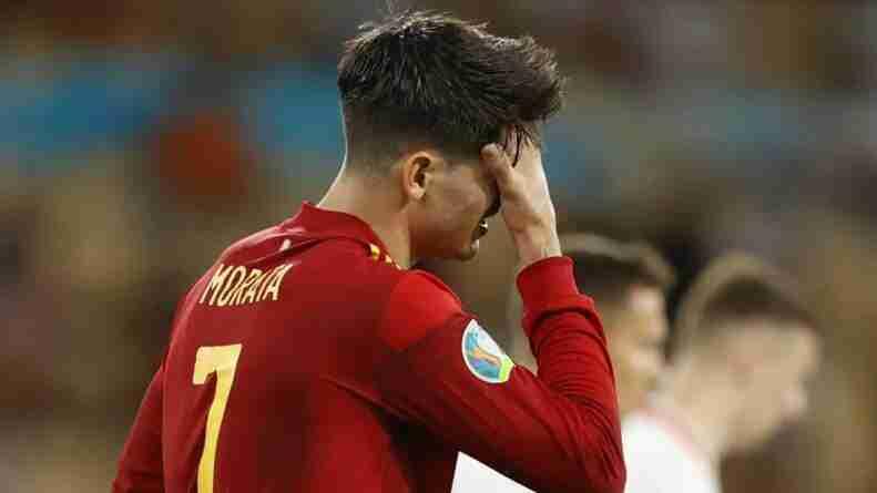 Morata lamenta ocasión España Euro 2020