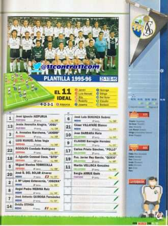 guía marca 95-96